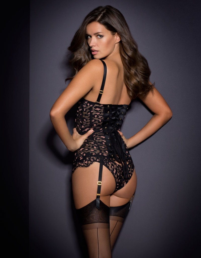353c34b6f7 Michea Crawford for Agent Provocateur Spring-Summer 2016 – Fashion ...