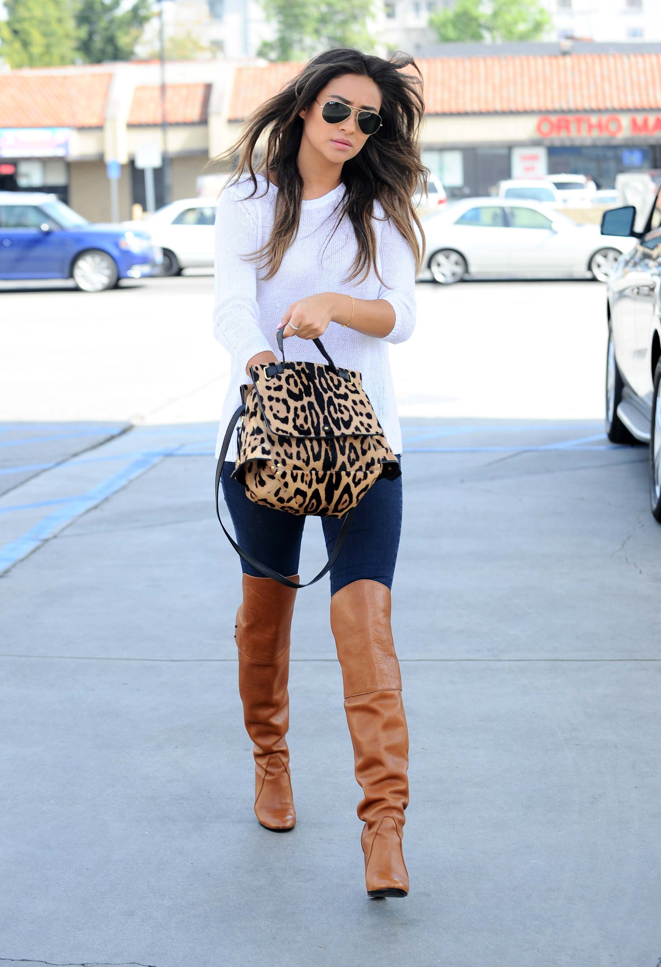 8205d97567b57 Shay Mitchell Pumping gas in Los Angeles on April 2014 – Fashion ...