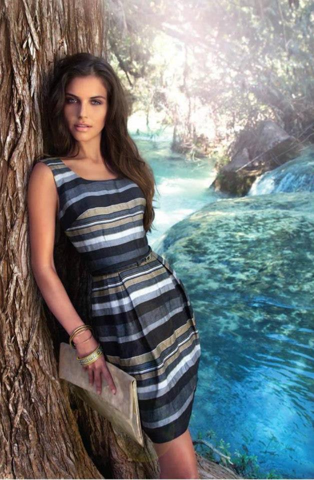 Anahi Gonzales Daly for Ivonne PETITE – Primavera Verano ...  |Anahi Gonzales 2013