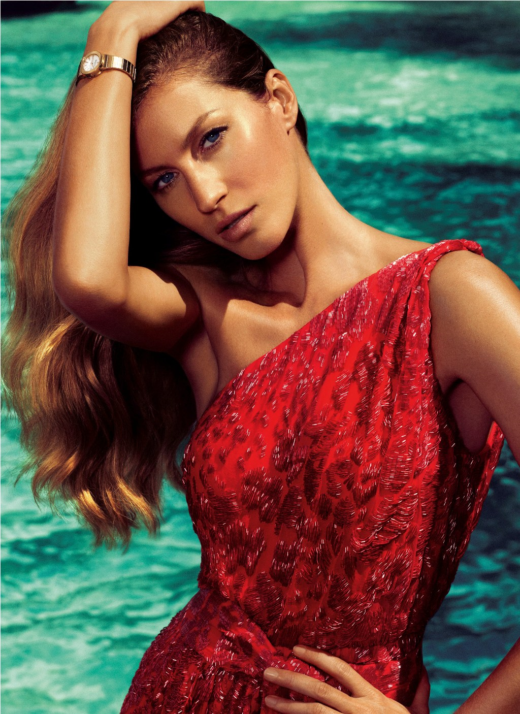 Gisele Bundchen for Salvatore Ferragamo Spring Summer 2012 ... Gisele Bundchen